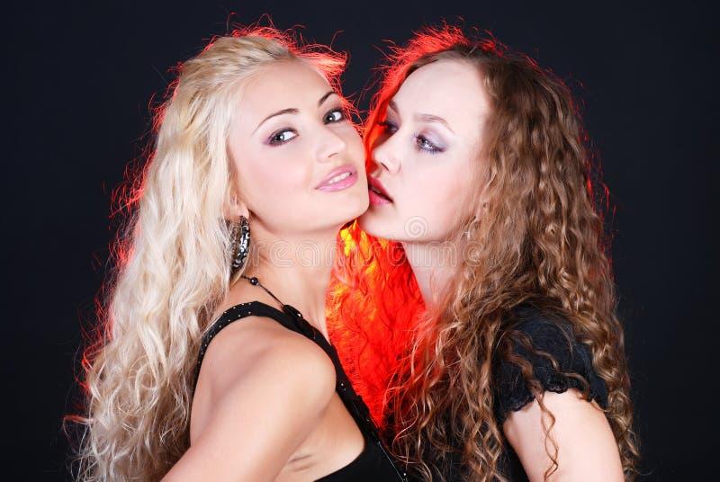 Pretty girls royalty free stock image