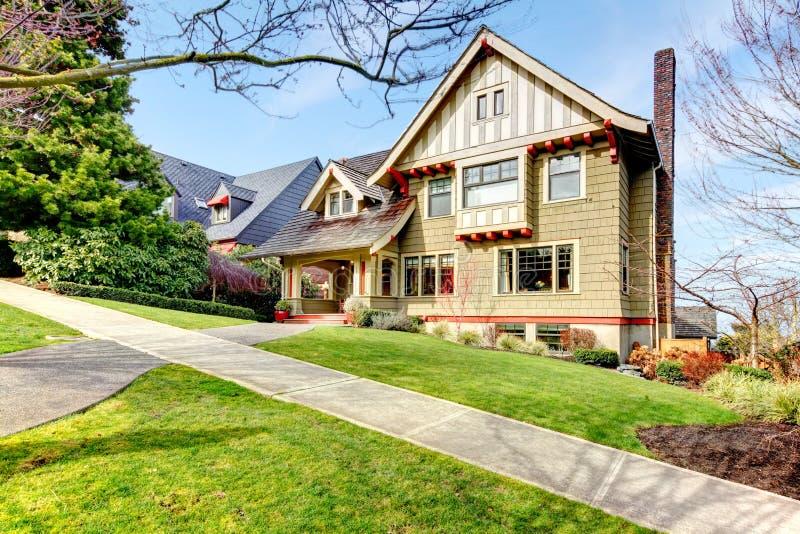 Pretty Shingle Siding House Royalty Free Stock Images