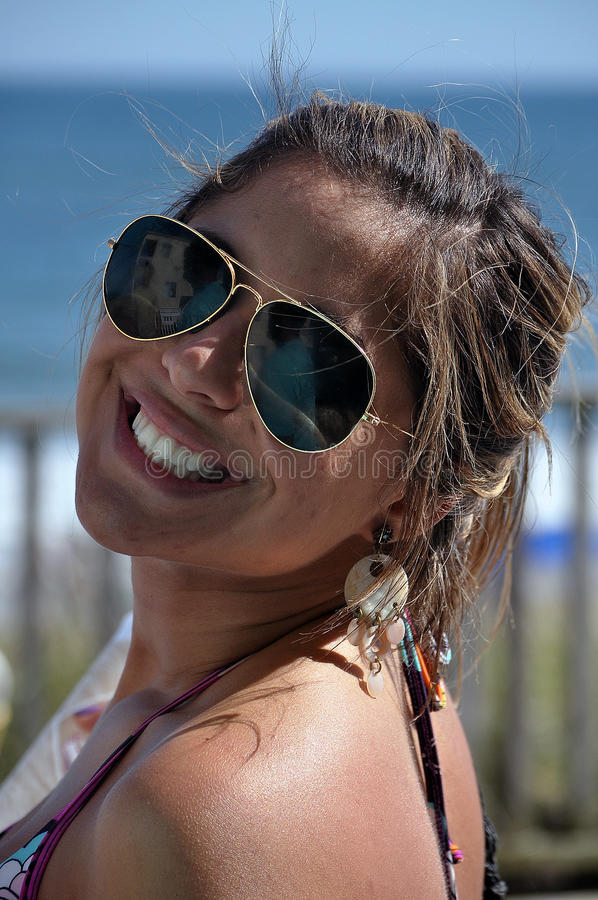 Download Pretty smile stock image. Image of vacation, care, skin - 14581149