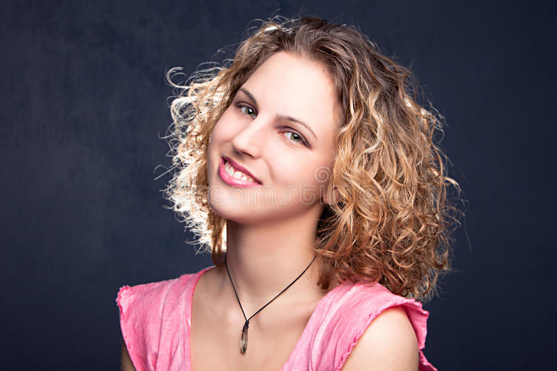 Download Smiling teen stock photo. Image of horizontal, face, bright - 30164524