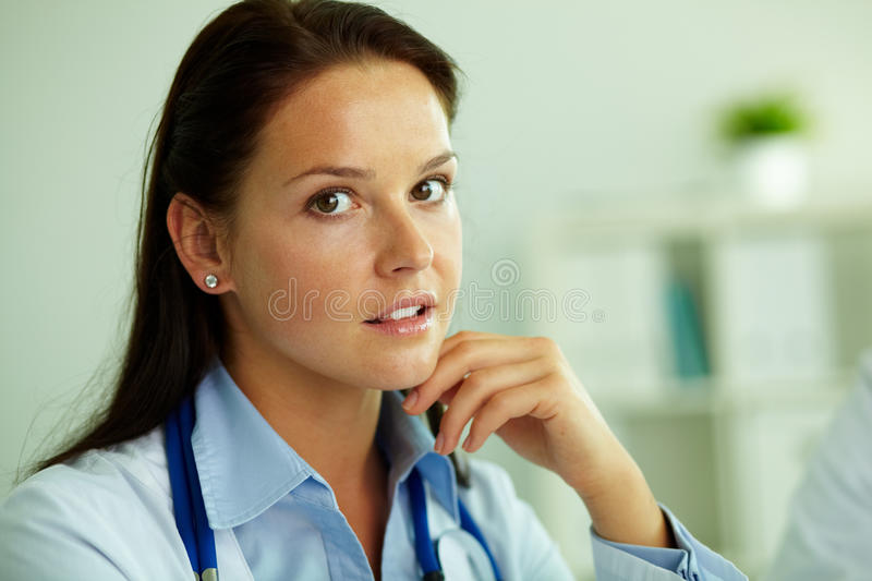 Download Pretty specialist stock image. Image of employment, person - 25939615