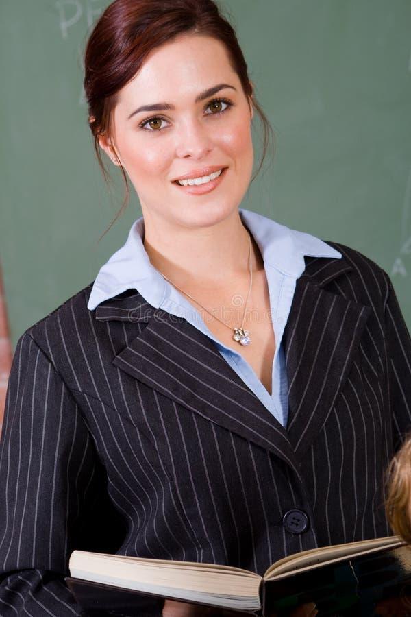 Pretty teacher royalty free stock photos