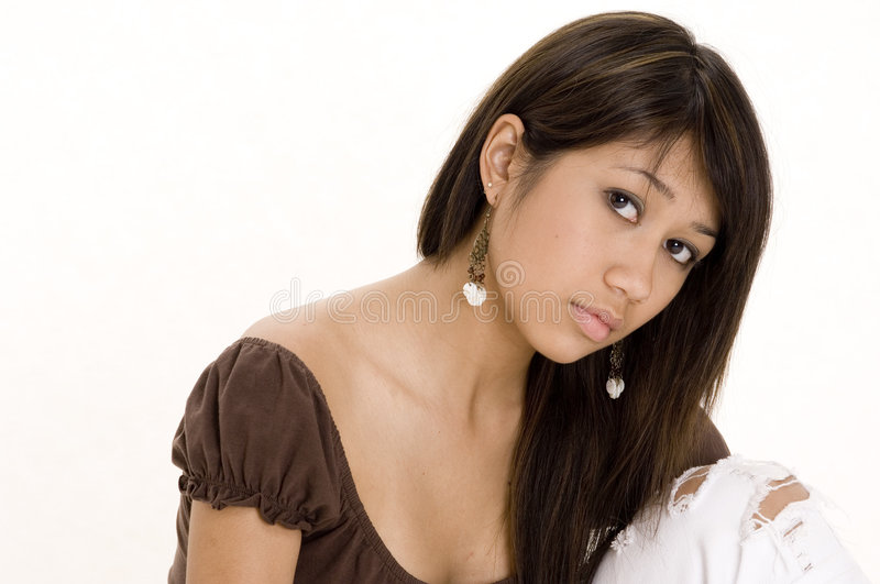 Download Pretty Teen 4 stock image. Image of individual, sitting - 358537