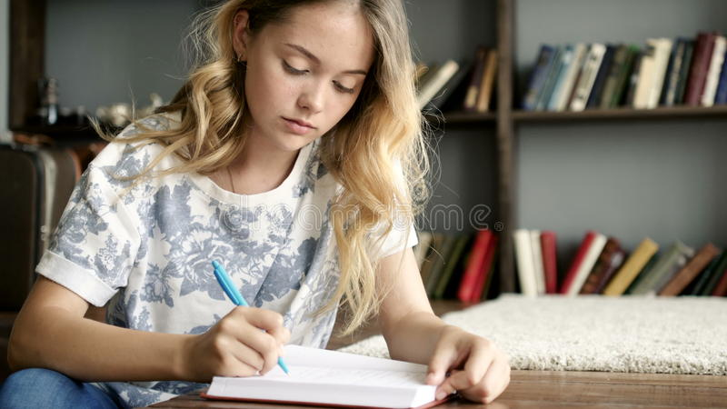 Writing a girl a letter