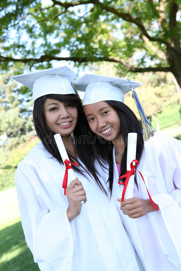 Download Pretty Teens At Graduation Royalty Free Stock Images - Image: 9859009