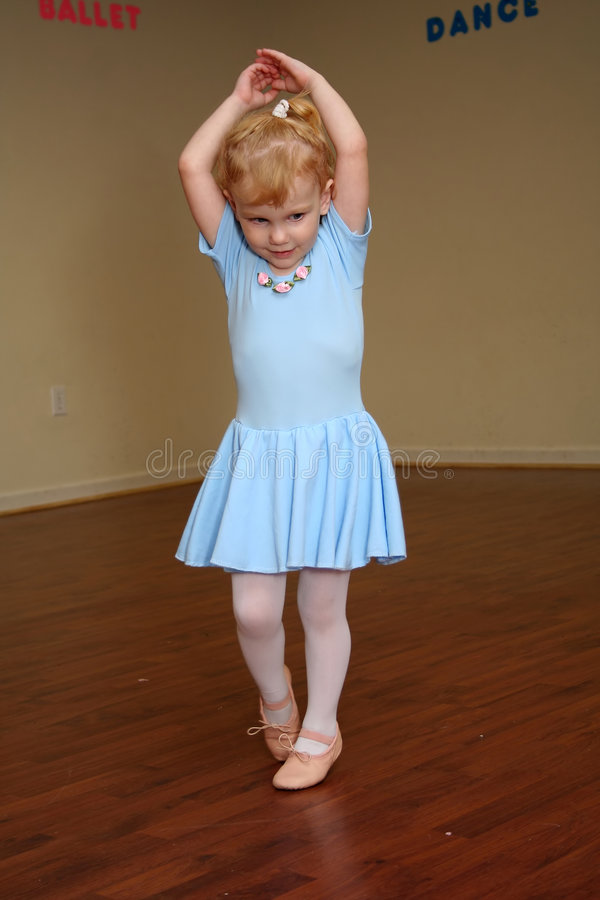 Pretty Toddler Ballerina 2 Stock Photography