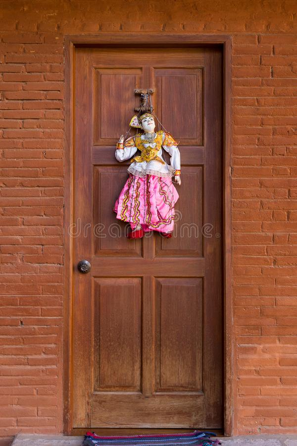 Door Decoration Style Stock Photo Image Of Beautiful