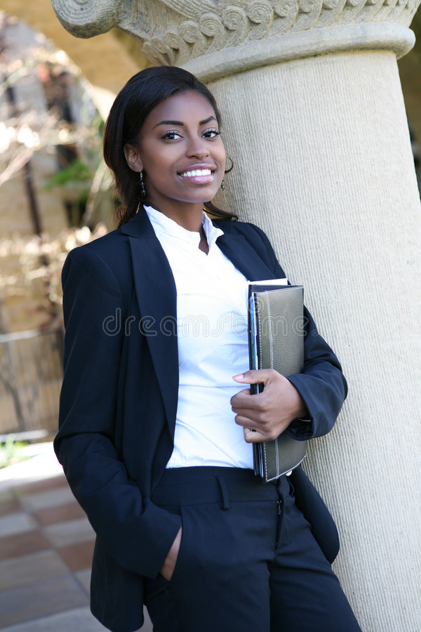 Pretty University Student stock photo