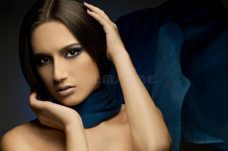 Download Pretty woman stock image. Image of model, glamour, face - 17428309
