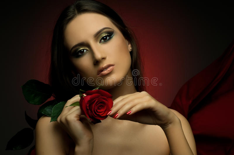 Download Pretty woman stock photo. Image of cutie, emotion, photo - 18411244