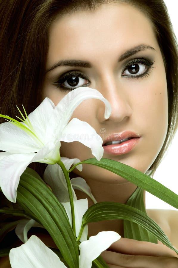 Download Pretty woman stock image. Image of likeness, fine, female - 20179437