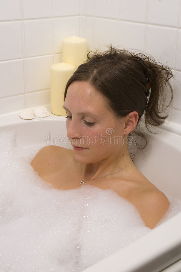 Download Pretty Woman Bathing Royalty Free Stock Images - Image: 2300929
