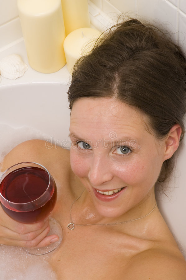 Download Pretty Woman Bathing Royalty Free Stock Images - Image: 2300959