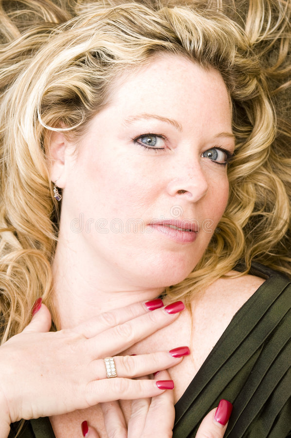 Download Pretty Woman With Blond Hair Stock Image - Image: 9360957