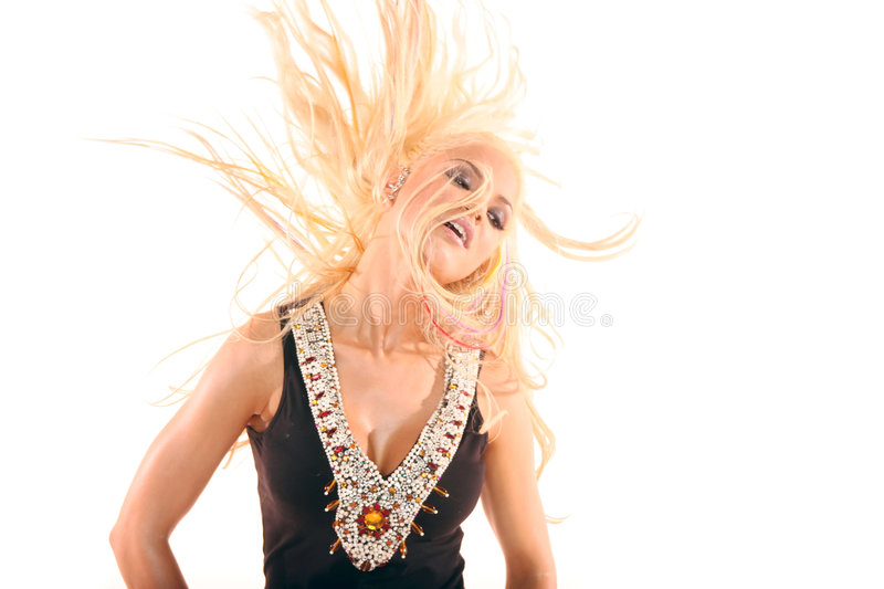 Download Pretty woman dancing stock photo. Image of attractive - 2925154
