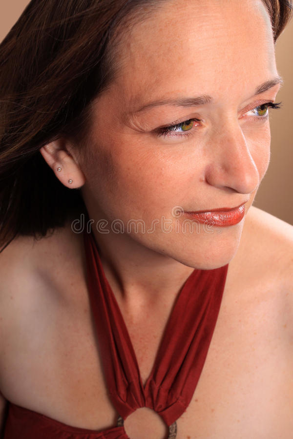 Download Pretty Woman In Her Forties Stock Image - Image: 16140395