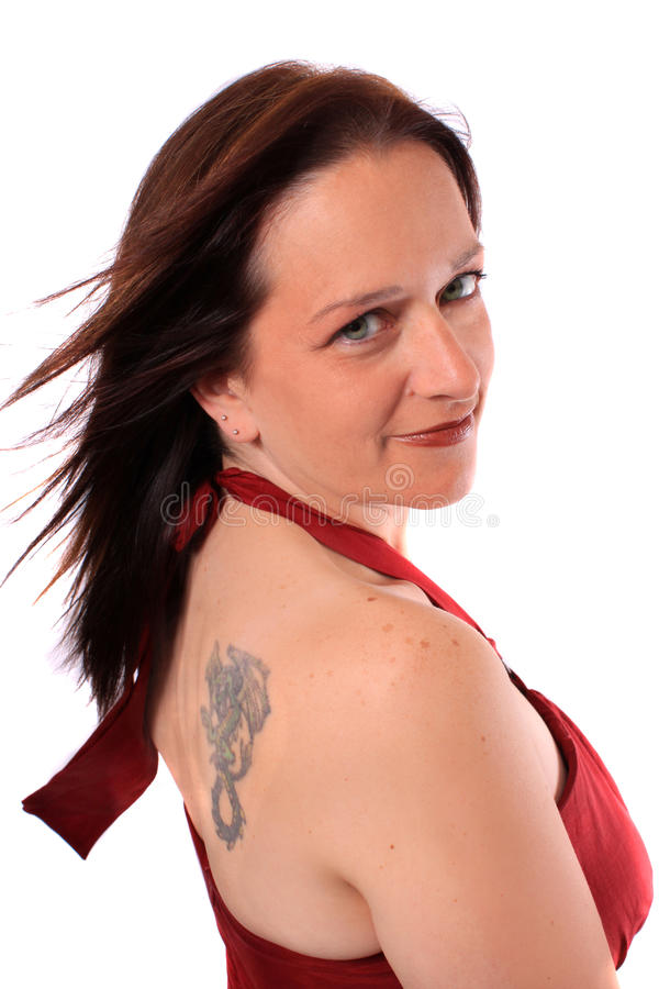 Download Pretty Woman In Her Forties Stock Image - Image: 16258851