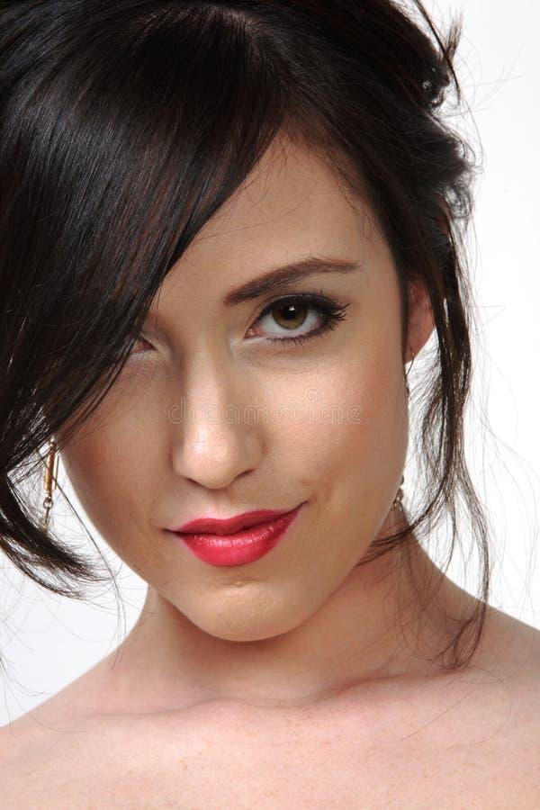 Pretty woman portrait stock photography