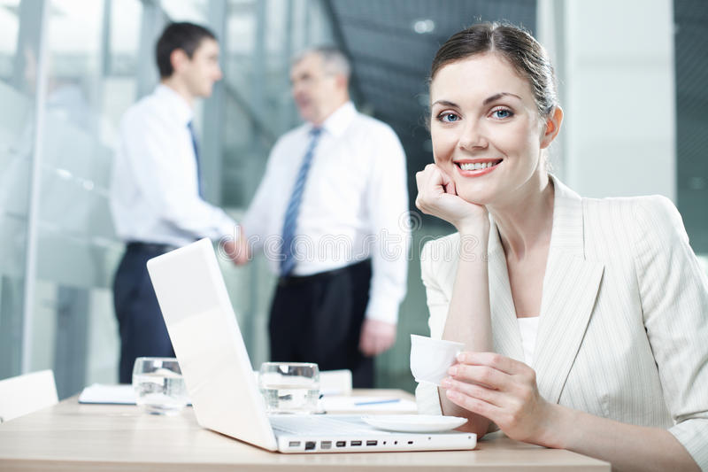Download Pretty worker stock image. Image of environment, businesswomen - 22620385
