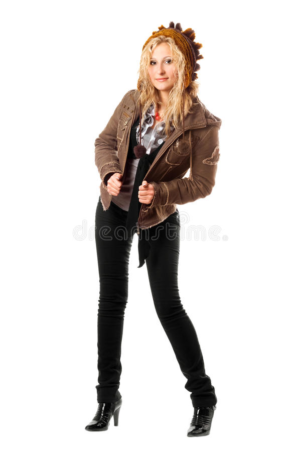 Download Pretty young blonde stock photo. Image of isolated, cute - 17312304