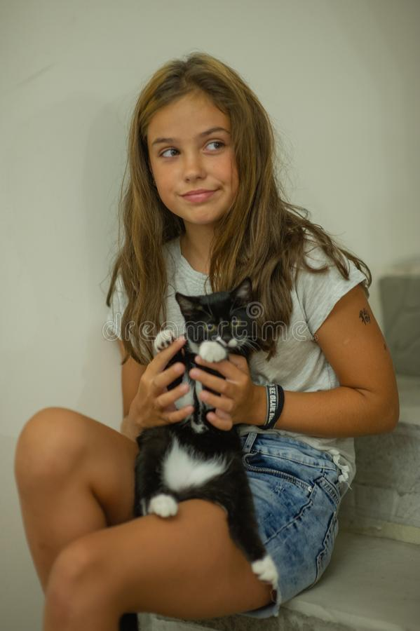 Teen Kitten Young