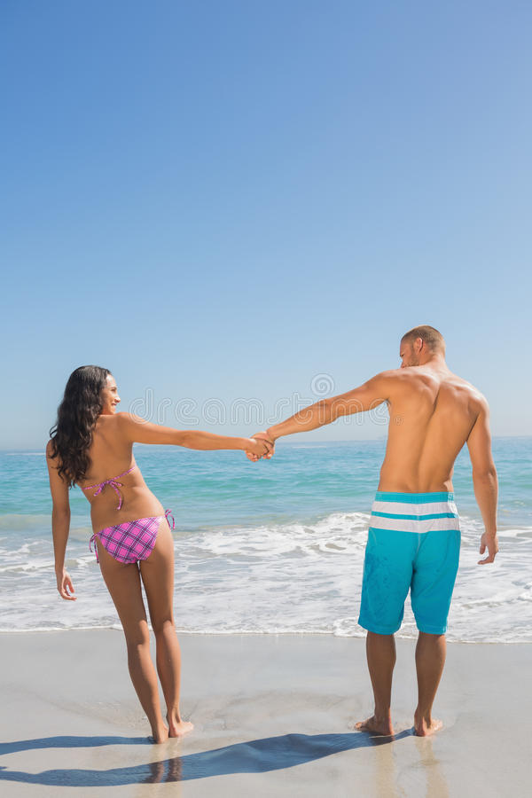 Download Pretty Young Couple Having Holidays Together Stock Image - Image: 33126301