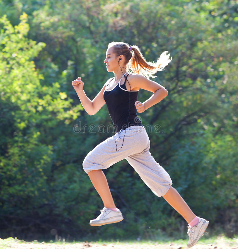 Jogger royalty free stock images