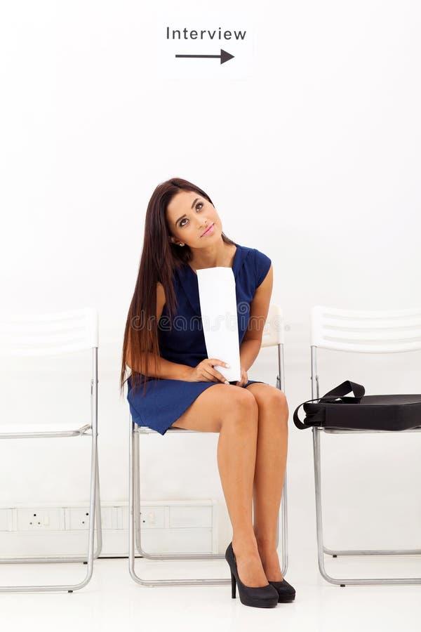 Download Waiting job interview stock photo. Image of beautiful - 30206862