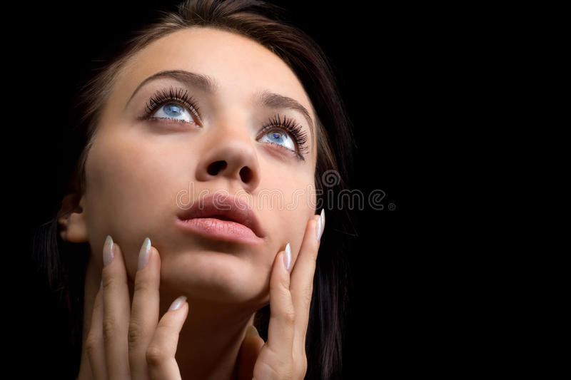 Download Pretty young woman stock photo. Image of expressive, lady - 13983406