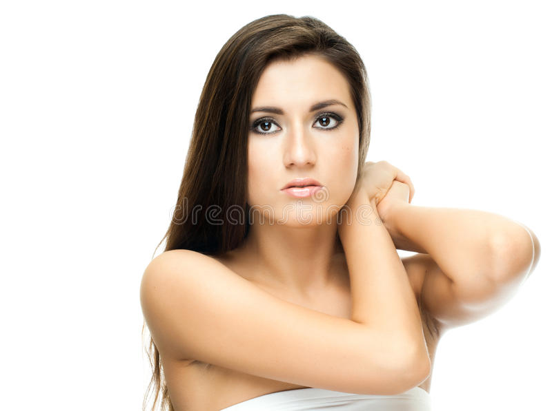 Download Pretty young woman stock photo. Image of cute, horizontal - 23123472