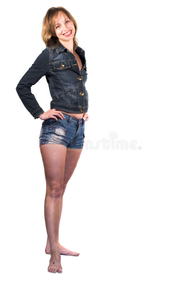Pretty young woman royalty free stock photo