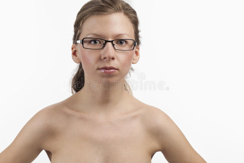 Download Pretty Young Woman With Glasses Stock Image - Image: 23814919