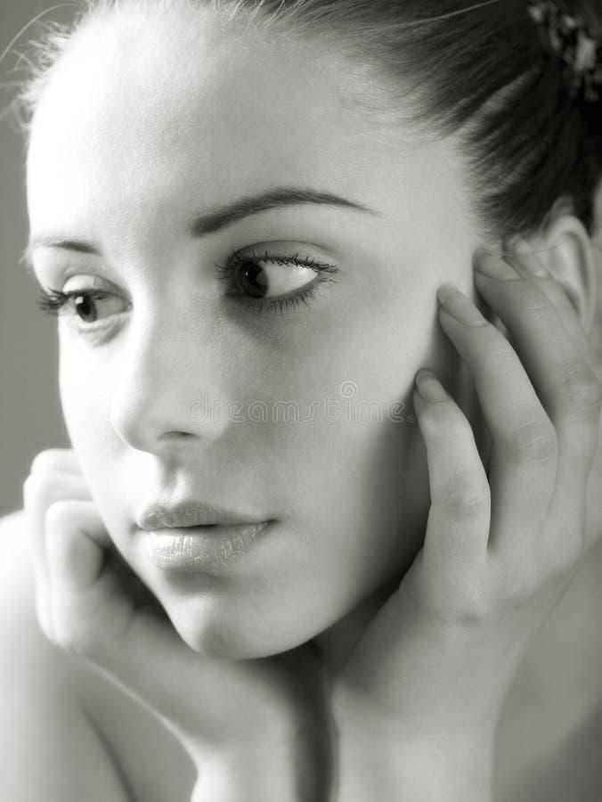 Pretty Young Woman Portrait Royalty Free Stock Photo