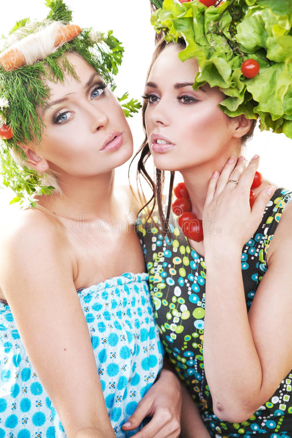 Download Pretty young women posing stock image. Image of consumer - 26827603