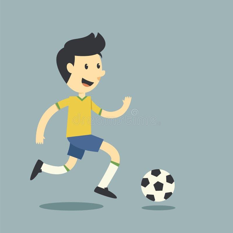 Download Pretvoetbalster vector illustratie. Illustratie bestaande uit doel - 39115506