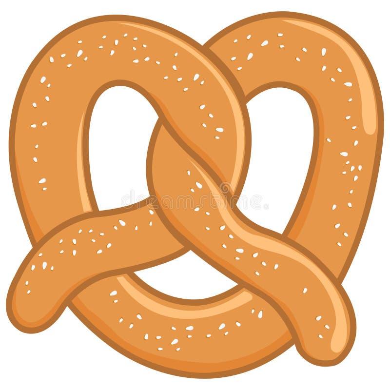 pretzel απεικόνιση αποθεμάτων