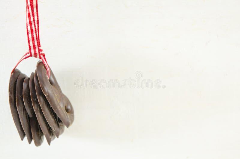 Pretzels σοκολάτας στοκ φωτογραφία με δικαίωμα ελεύθερης χρήσης