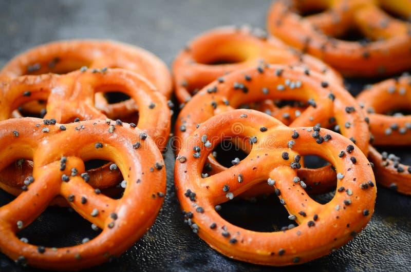 pretzels stock foto