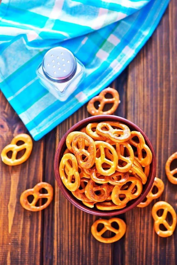 pretzels royalty-vrije stock foto