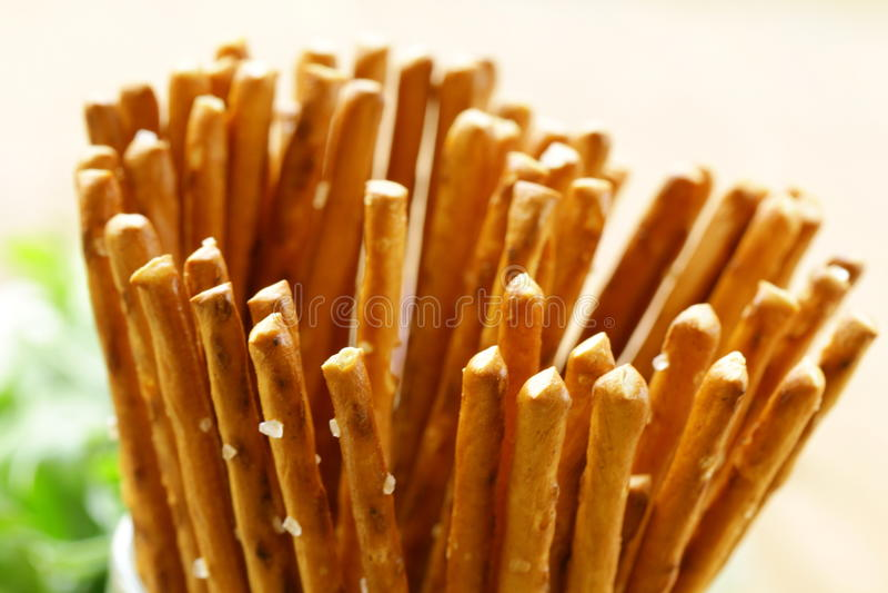 Download Pretzels Salty Snack Bread Sticks Stock Image