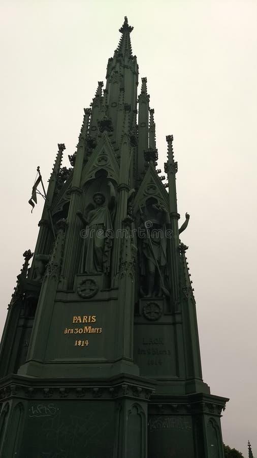 Preussisches Monument stockbild