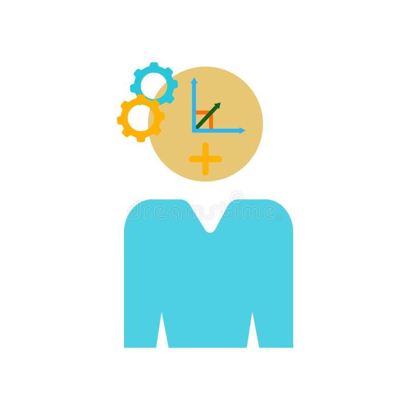 Prevedi il vettore dell'icona isolato su fondo bianco, segno di previsione illustrazione vettoriale