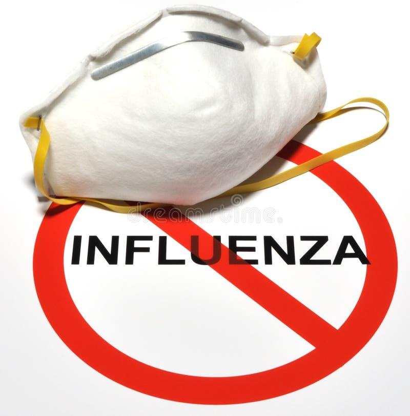 Prevenção da gripe fotografia de stock