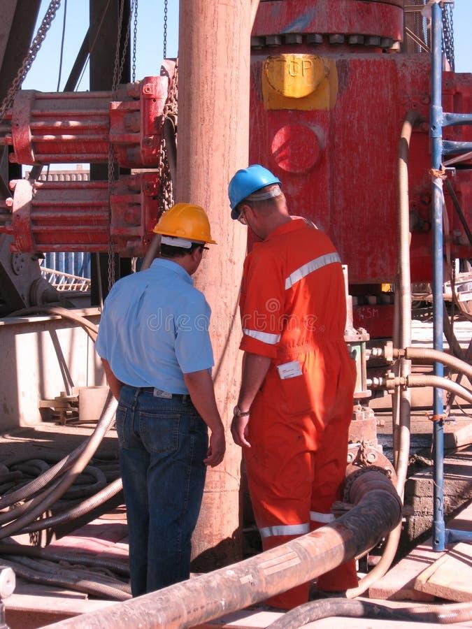 Preventer de ruptura no equipamento de perfuração para a exploração do petróleo fotos de stock