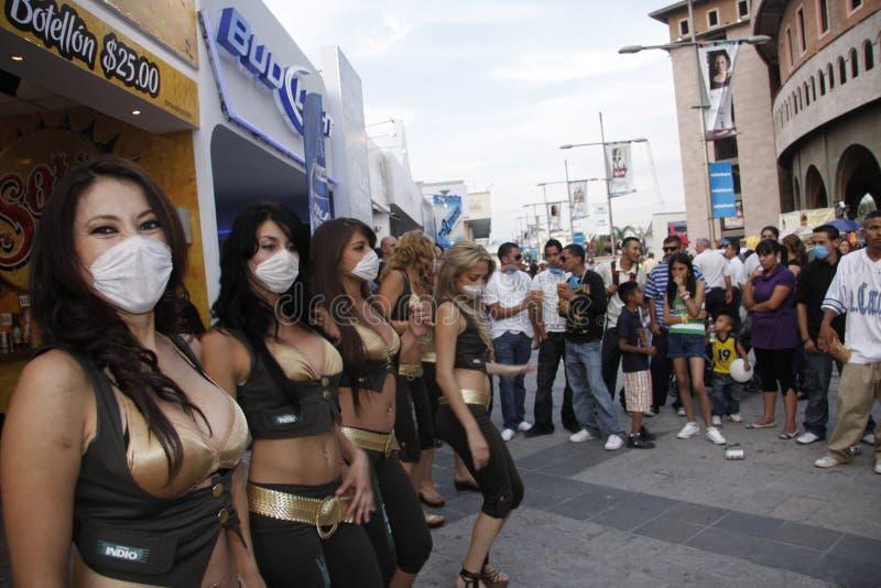 Preventing swine flu at Mexico