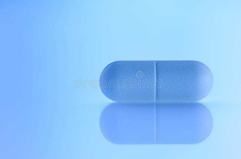 Preventivpiller royaltyfria bilder