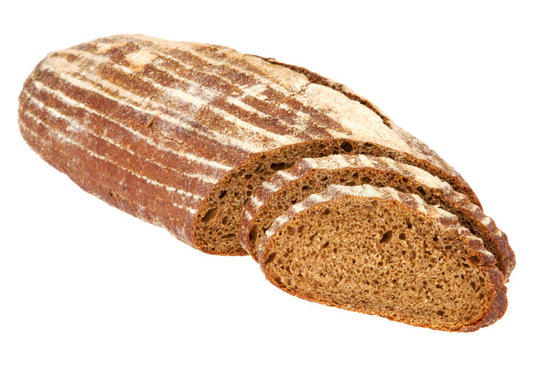 Download Preview Bread Loaf On White Background Stock Photo - Image: 36579530
