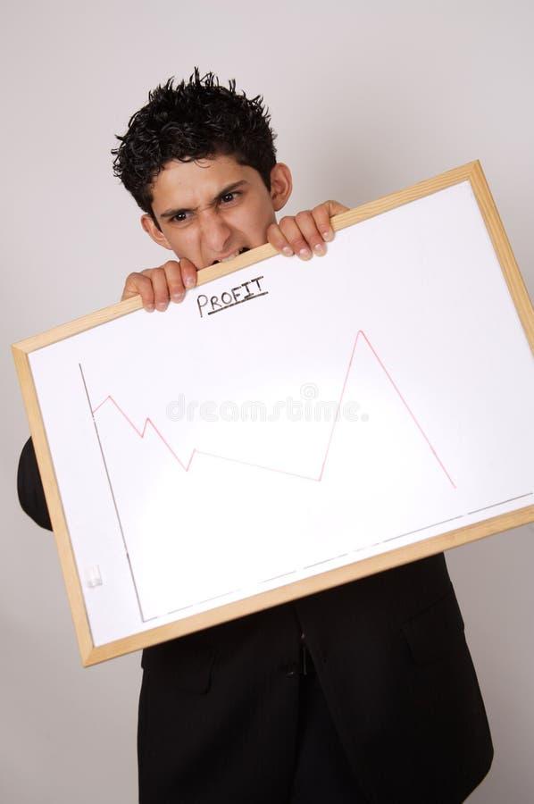 Previsão dos lucros imagem de stock