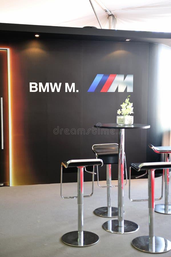 Previsione Convertibile Di BMW M6 A Singapore Immagine Editoriale