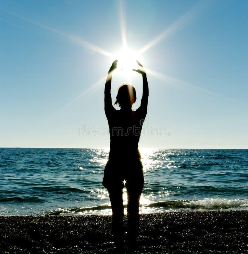 Free Preyer Sun Stock Image - 16363981